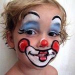 Trucco-bambino-Carnevale-Clown