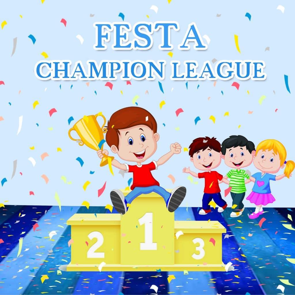 FESTA per bambini CHAMPIONG LEAGUE