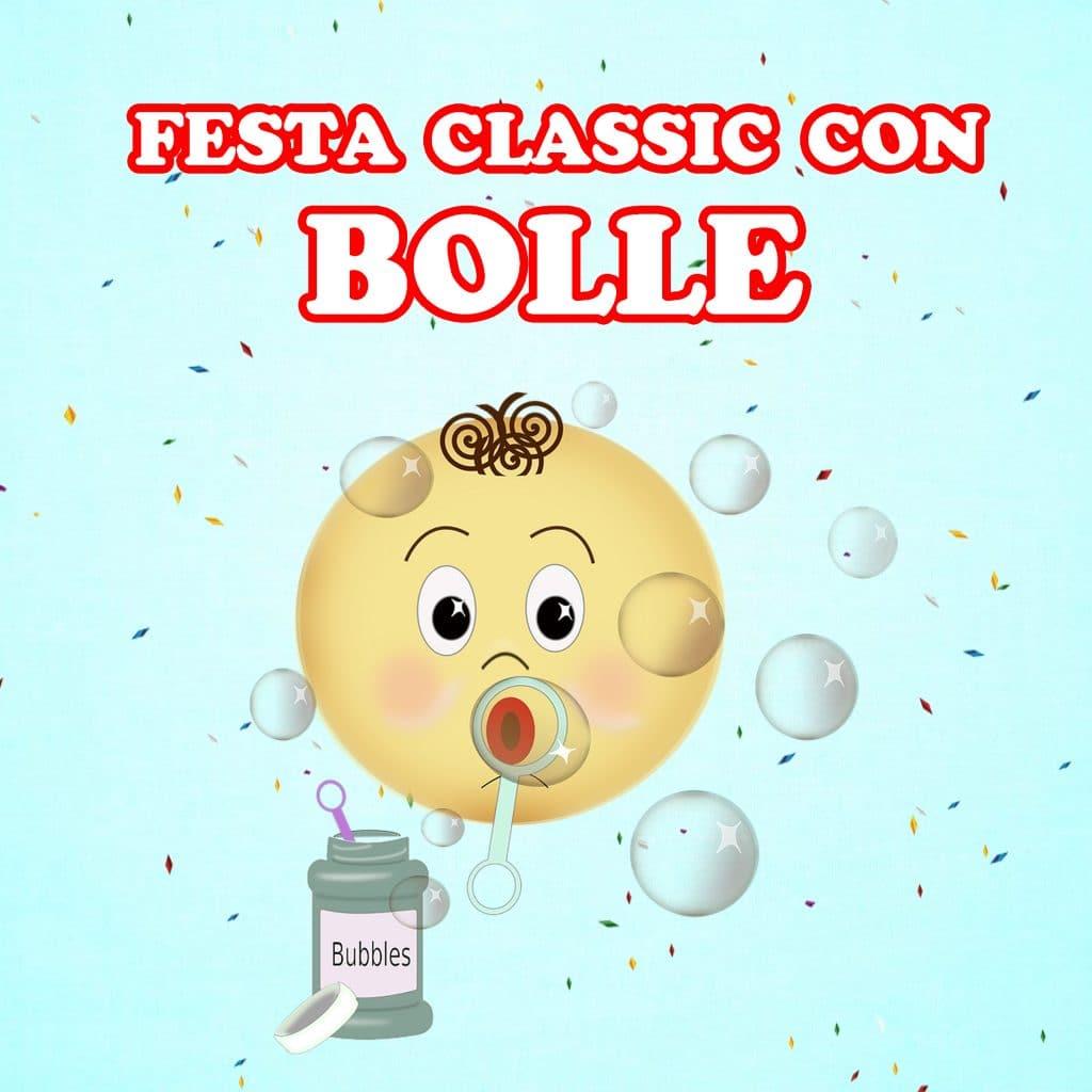 Feste di Compleanno per Bambini Classic con Bolle di Sapone